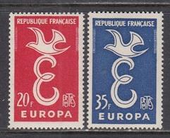 France 1958 - EUROPA CEPT, YT 1173/74, Neufs** - France