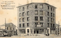 CPA - Neuilly Plaisance (93) - La Maltournée - Immeuble Neuf - Tramway - Port Gratuit - Neuilly Plaisance