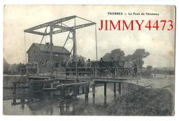 CPA - Le Pont De Thiennes - THIENNES ( Canton De Hazebrouck - Arr. De Dunkerque ) 59 Nord -  Edit. Leleu - Hazebrouck