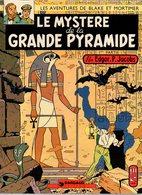 Les Aventures De Blake Et Mortimer Le Mystère De La Grande Pyramide Tome 1par Edgar.P. Jacobs - Dargaud éditeur De 1972 - Blake Et Mortimer