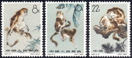 1963 - Monkeys (M.741/743), O.g., MNH.... - Cina
