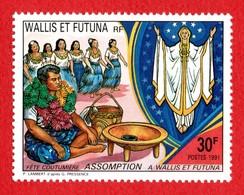Wallis Et Futuna  °° 1991 N 415 Assomption   (wp17L3) / - Wallis And Futuna