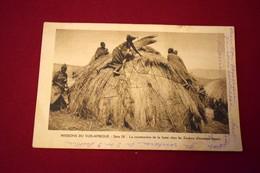 CP MISSIONNAIRES, CONSTRUCTION D'UNE HUTTE ZOULOU, AFRIQUE DU SUD - Südafrika