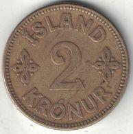 Iceland 2 Kronur – 1925 - Iceland