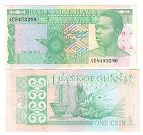 GHANA 1 CEDI 1979 SPL+  LOTTO 671 - Ghana