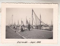 Oostende - September 1938 - Foto 7 X 10 Cm - Bateaux