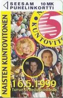 FINLAND -    Kuntovitosen Klubikortti 1999 - 11000ex - Finland
