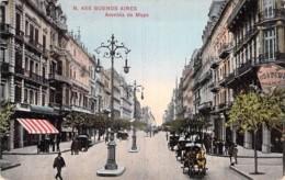 ** Lot De 2 Postales ** ARGENTINA Argentine - BUENOS AIRES Avenida De Mayo - Jolies CPA (1/4) AMERIQUE SUD Sudamerica - Argentina