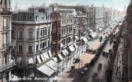 ** Lot De 2 Postales ** ARGENTINA Argentine - BUENOS AIRES Avenida De Mayo - Jolies CPA (2/4) AMERIQUE SUD Sudamerica - Argentina