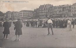 HEIST / LAWN TENNIS WEDSTRIJD OP HET STRAND / CONCOURS  1910 - Heist