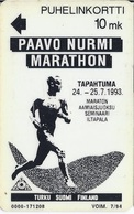 FINLAND -  Paavo Nurmi Marathon –93 - 60000ex - Finland