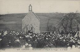 Cancale Procession Du 15 Août Chapelle Du Verger - Cancale