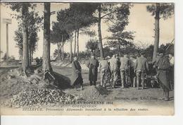 Guerre Europeenne 1914 1915 A Coetquidan Prisonniers Allemands A La Refection Des Routes - France