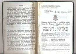 Passeport Belge (1968) - Historical Documents