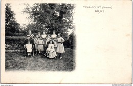 80 VIGNACOURT - Le Chatelain Et Sa Famille - France