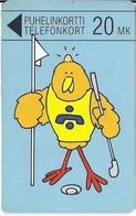 FINLAND - Golfer Buzzby - 15500ex - Finland
