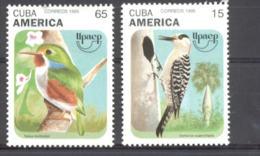 Cuba 1995 America UPAEP Birds MNH Scott 3698-3699 Value $1.95 - Nuevos