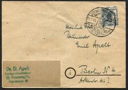 (1867) Netzaufdruck KRONBERG (Taunus), Werbestempel Vom 31.7.1948 - American,British And Russian Zone