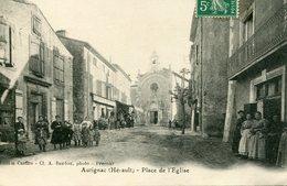 AUTIGNAC - PLACE De L' EGLISE - - France