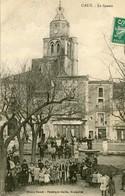 CAUX - LE SQUARE En 1911 - - France
