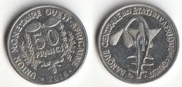 Piece 50 Francs 2016 Afrique De L'Ouest Origine Cote D'Ivoire - Elfenbeinküste