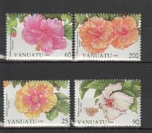 N625 1995 VANUATU FLORA FLOWERS 1SET MNH - Altri