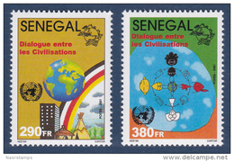 Senegal - 2001 - ( UN - Year Of Dialogue Among Civilizations / Dialog / Dialogo / Civilisations ) - Complete Set - MNH** - Senegal (1960-...)
