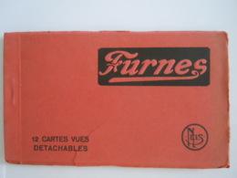 Furnes Veurne 12 Cartes-vues Detachables Zichtkaarten Edit Nels, Kaftje Beschadigd, Couverture Carnet Abimée - Veurne