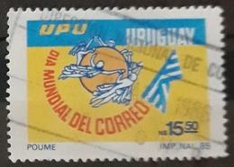 URUGUAY 1986 World Post Day. USADO - USED. - Uruguay