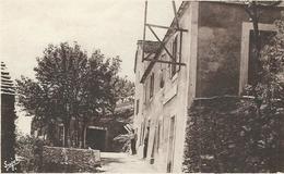 """Lozere : St Frézal De Ventalon, Café """"Soustelle"""", Vue De L'Hotel - France"""
