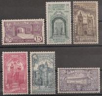 Portugal 1931 - Série Completa Centenário Morte De S. António Afinsa 531 A 536 - Set Complete - Mint MNG / Neuf - 1910-... République