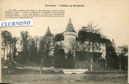 CPA - BRIDOIRE - CHATEAU  (ETAT PARFAIT) - France