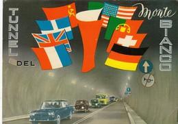 12584-CARTOLINA INAUGURAZIONE TUNNEL DEL MONTE BIANCO-FG - Inaugurazioni