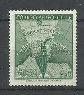 CHILE YVERT  AEREO   184   MNH  ** - Chile
