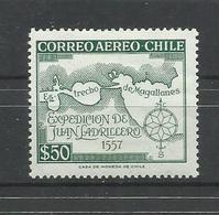 CHILE YVERT  AEREO   185 MNH  ** - Chile