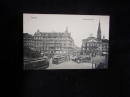 Berlin. Alexanderplatz .Tramways  .Voir 2 Scans. - Deutschland
