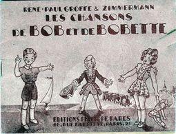 Les Chansons De Bob Et De Bobette Par René Paul Groffe & Zimmermann - - Musique & Instruments