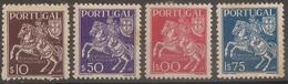 Portugal 1944 - Série Completa Exposição Filatélica Portuguesa Afinsa 636 A 639 - Set Complete - Mint MH / Neuf - 1910-... République