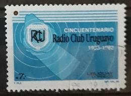 URUGUAY 1984 The 50th Anniversary Of The Uruguay Radio Club. USADO - USED. - Uruguay