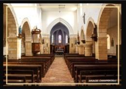 08  SAULCES  CHAMPENOISES    .. ..interieur De L'eglise - Other Municipalities