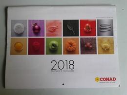 Alt1075 Calendario 2018 Tavolate E Tavolozze A&O Grande Distribuzione Market Supermarket Cibo Food Frutta Fruit - Calendari