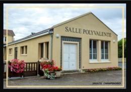 08  SAULCES  CHAMPENOISES    .. ..  La  Salle  Polyvalente - France