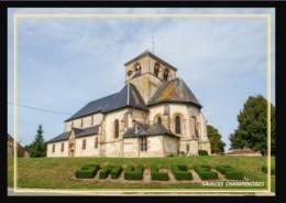 08  SAULCES  CHAMPENOISES    .. ..  Abside De L'eglise - France
