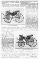 """LA VOITURE De """" LAFAYETTE  """"   1901 - Transportation"""