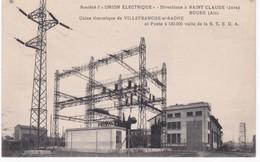 Société L'UNION ELECTRIQUE - Usine Thermique De Villefranche-sur-Saône Poste - Directions à Saint-Claude Bourg-en-Bresse - Industrie