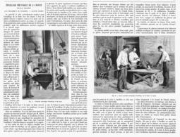 """EMAILLAGE MECANIQUE DE LA FONTE Nouveau Procédé SYSTEME """" DORMOY """"  1901 - Technical"""