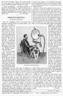 PROJECTEUR-RECEPTEUR  De  SIGNAUX PHONIQUES   1901 - Technical