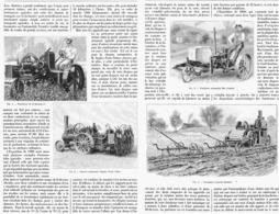 L'AUTOMOBILISME En AGRICULTURE   1901 - Transportation