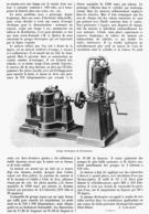 UN GROUPE ELECTROGENE De FAIBLE PUISSANCE  1901 - Sonstige