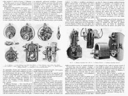 """SALON De L'AUTOMOBILE   """" Allumage Dans Les Moteurs à Essence De Pétrole  """"   1901 - Autres"""